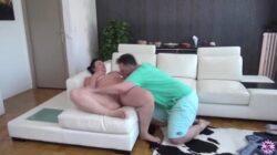 BBW baisant après avoir fait un casting de porno